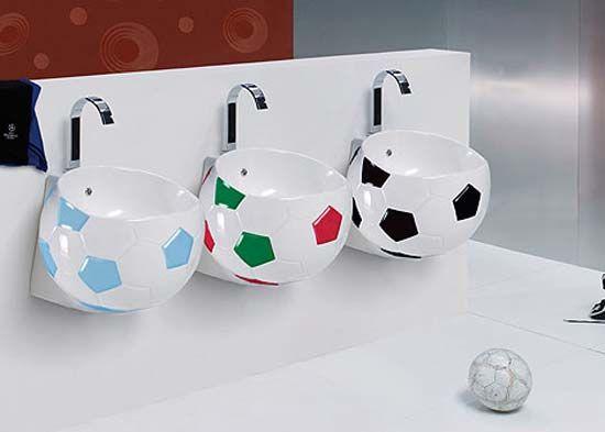 Superb Soccer Ball Sink