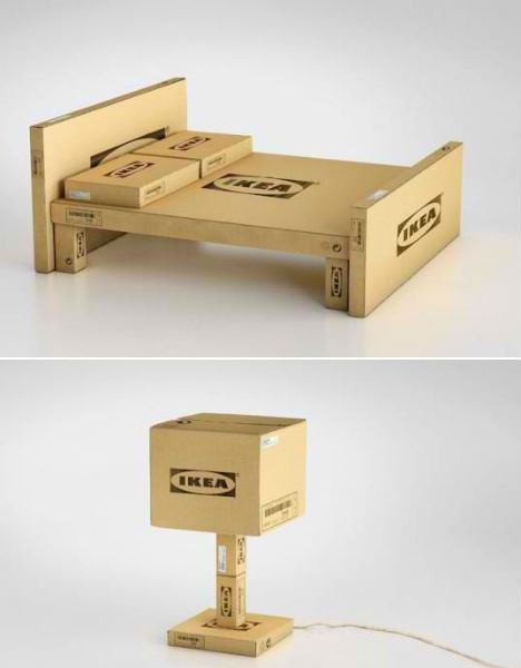 Funny Box Furniture Boxes And Box Art Cardboard