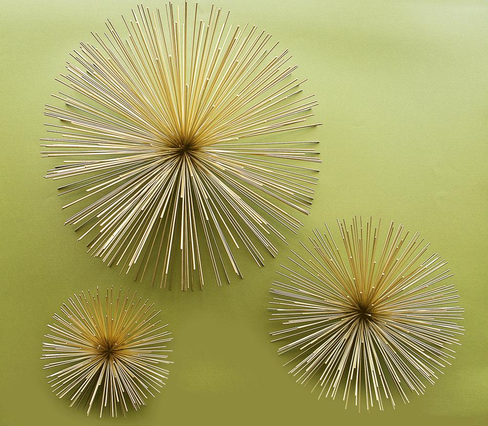 Brass s m l mid century wall starburst 103 james pinterest objets - Idees decors du milieu du siecle salon ...