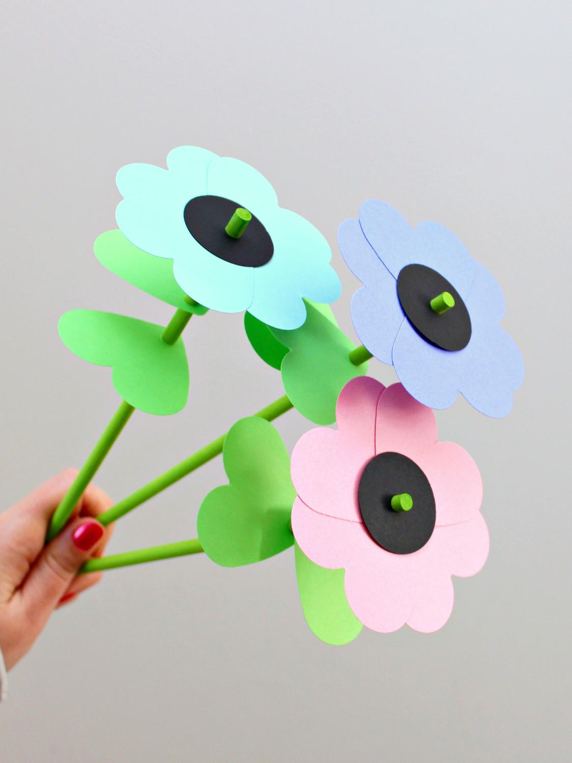 Diy paper u wood flower bouquet prueba pinterest diy paper