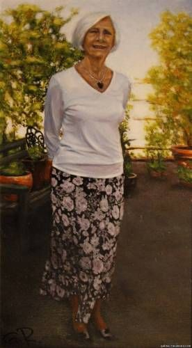 Doreen, oil on canvas  2010  55x30 sm  Commissioned for private collection  Essex  United Kingdom