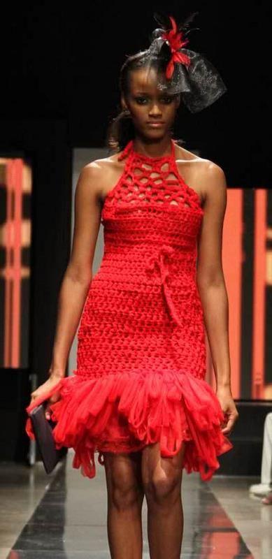 Crochet dress by Minka
