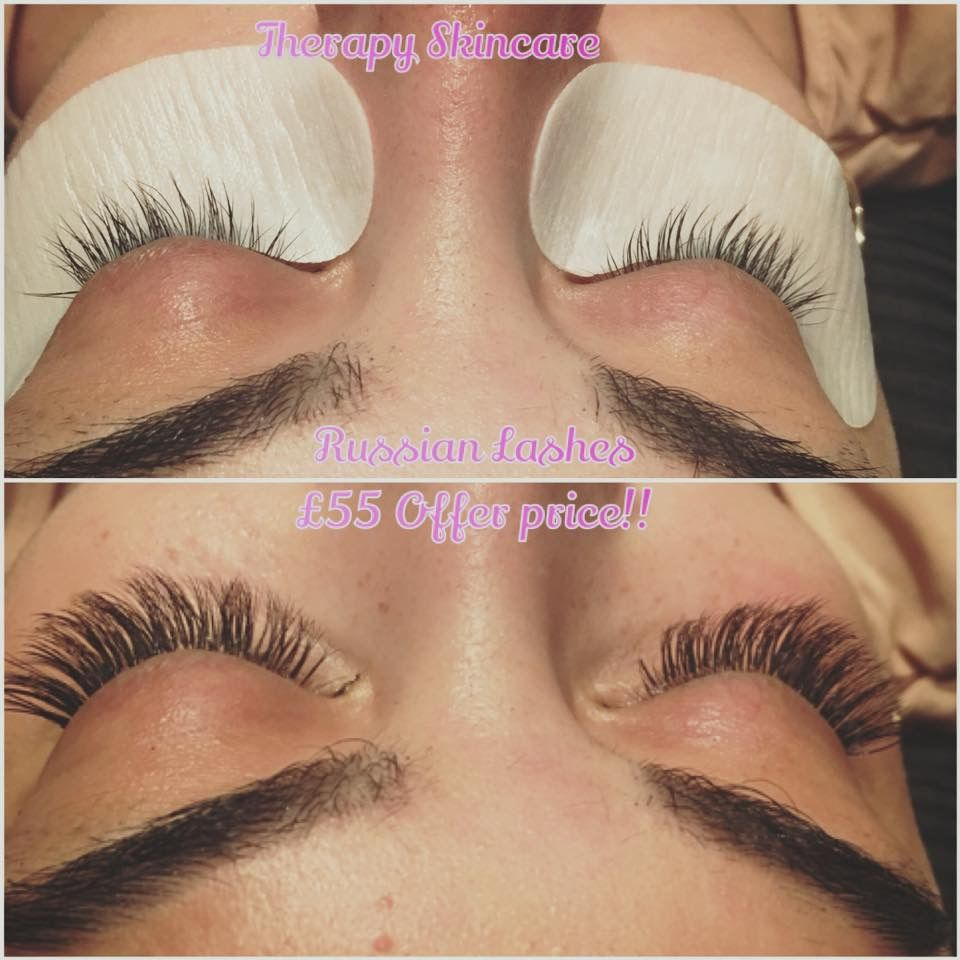 Pin By Therapy Skincare Halifax On Russian Lashes Pinterest
