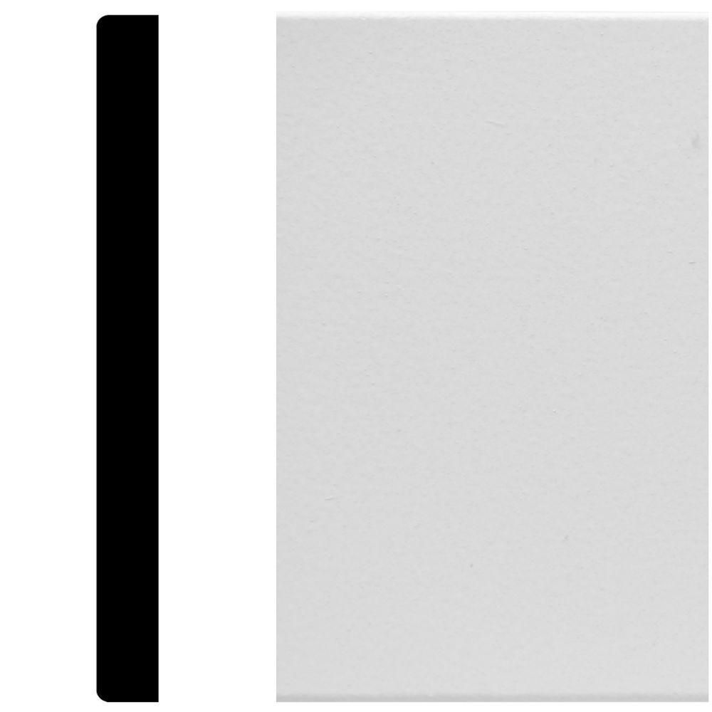 House of Fara 8825 15/32 in. x 5.5 in. x 96 in. MDF Primed Mullion ...