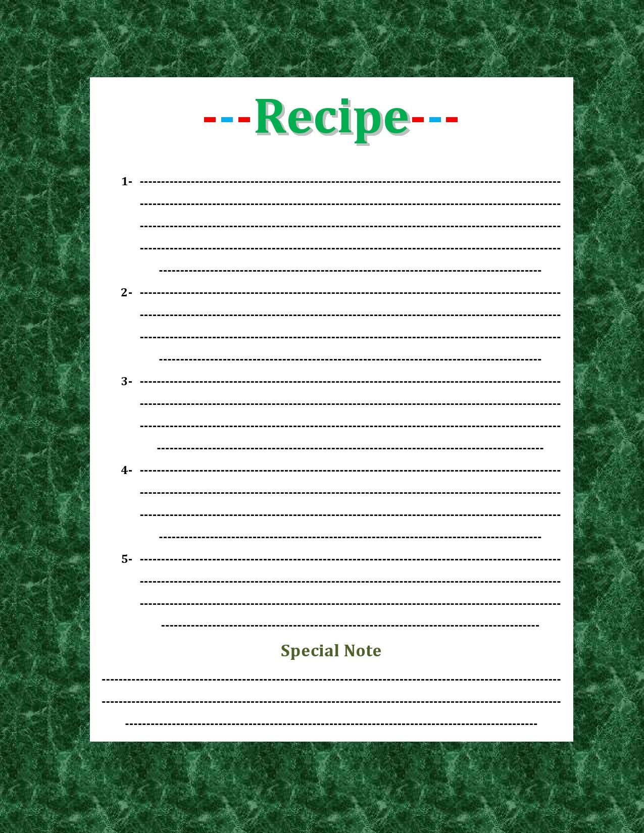 47 Free Recipe Card Templates Word Google Docs Recipe Template Recipe Cards Template Recipe Cards