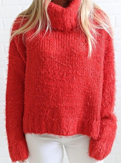 5de628ae29 red hot chunky sweater  cozy sweater  sweater weather  turtle neck  cozy  top  red top  holiday top