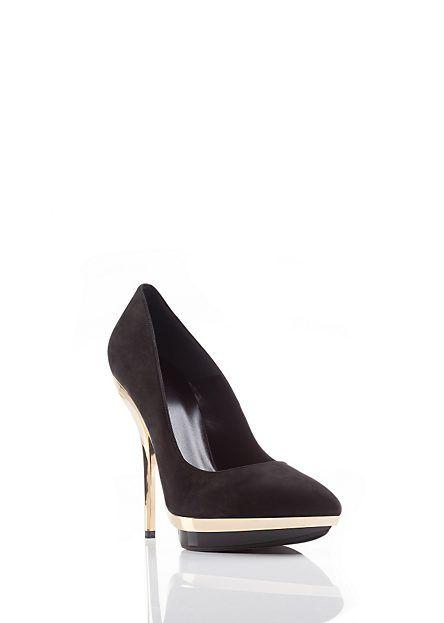 www.versace.com Mirrored Heel Shoes
