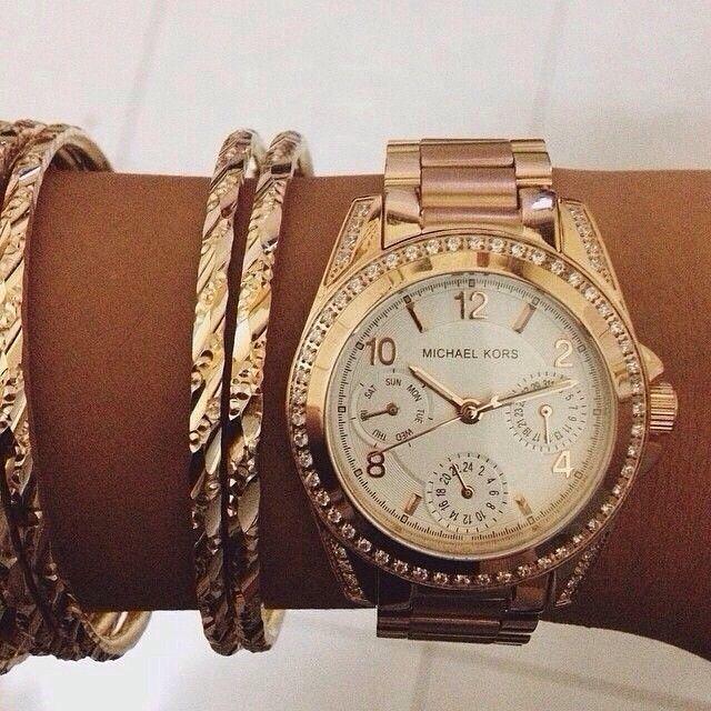 Michael Kors On Michael Kors Watch Rose Gold Handbags Michael Kors Purses Michael Kors
