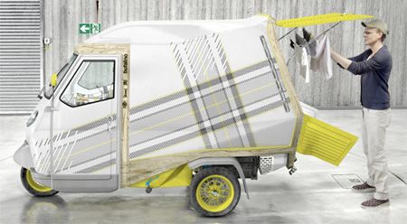 Small One Person Camper Designed By Cornelius Comanns From Germany