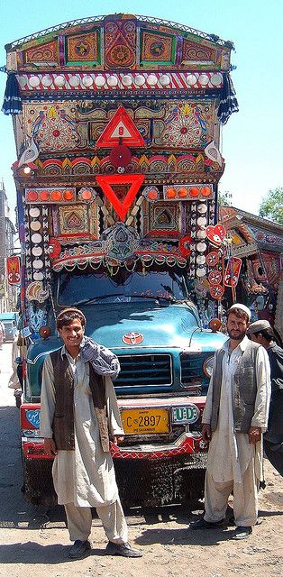 Truckers Peshawar 2006 by ronramstew on Flickr.
