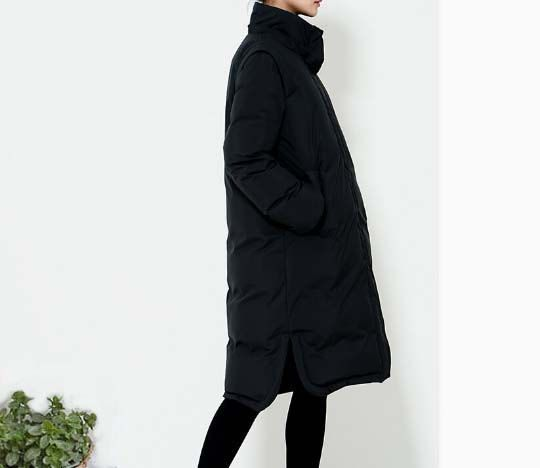 c094d07698d A-Line Long Down Coat Winter Down Coat Thick Women Warm Down Coat Many  Colors Plus Size