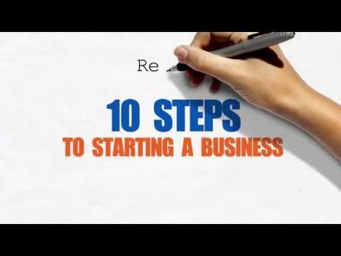 Steps To Starting A Small Business Good Site Also Includes Free
