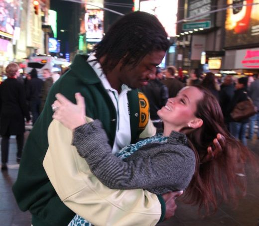 FatManWriting Fans Have Really Showered Robert Griffin III And Rebecca Liddicoat With Wedding