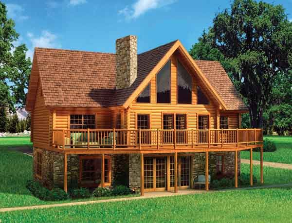 A frame home kit manufacturers tennessee log homes for Modular a frame homes