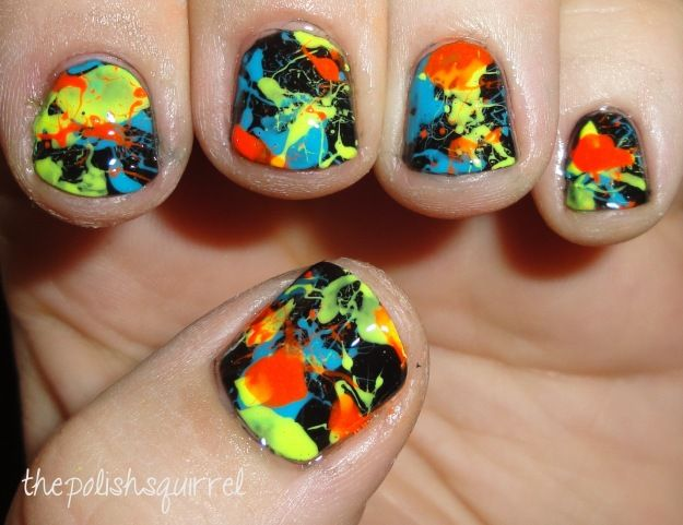 I knew I shouldn't have hired that Michaelangelo to do my nails when he said he would have to paint them upside down!