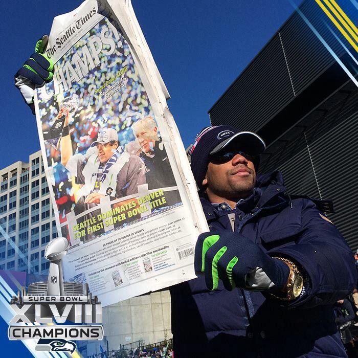 Seahawks Parade Seattle, WA 2/5/2014 #Celebrate48