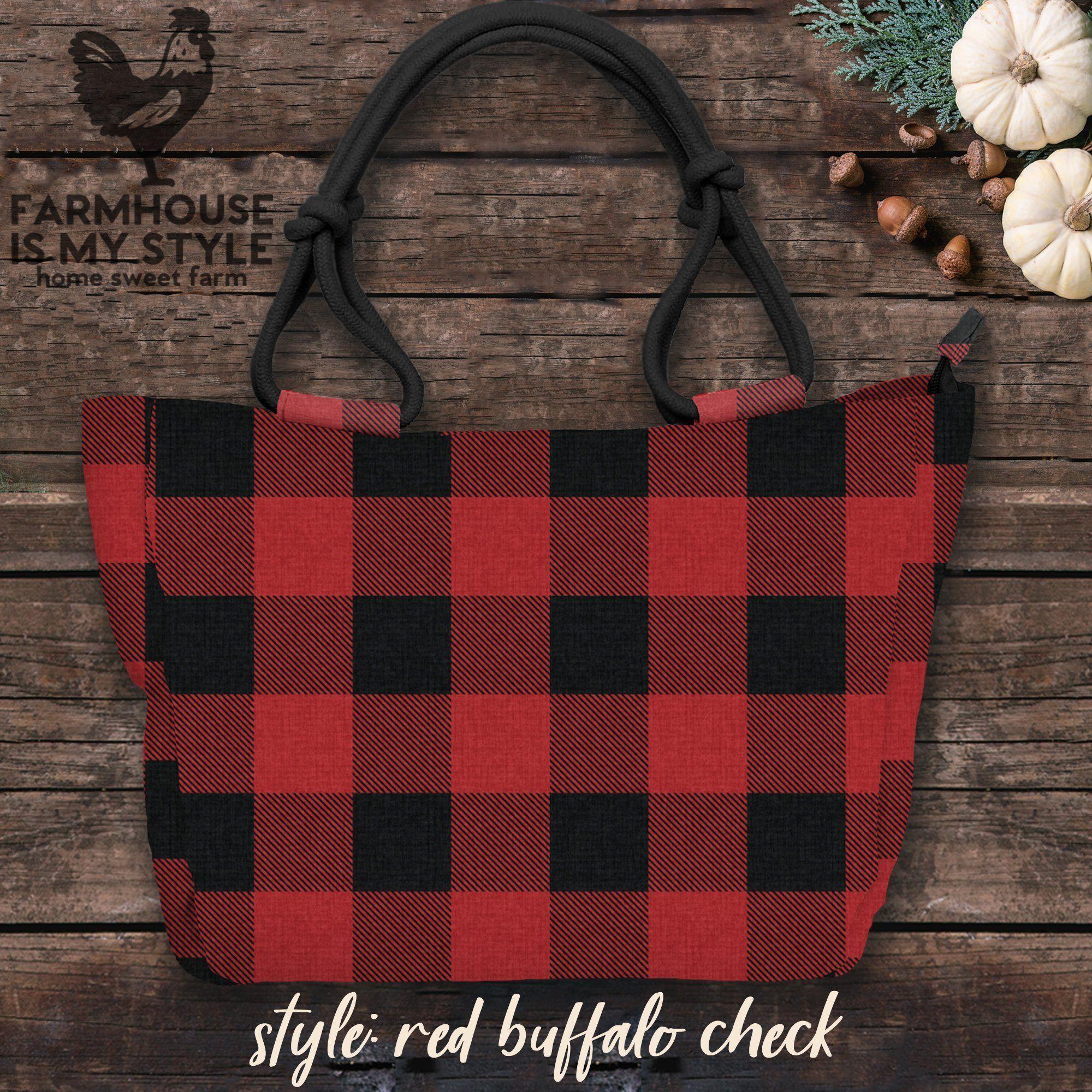 Just Released Fall / Winter Farmhouse Canvas Handbag