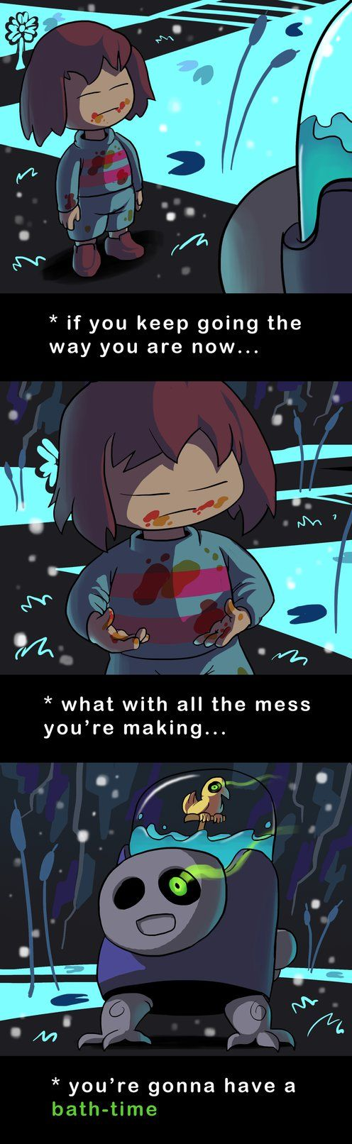 Undertale Green Means Clean By Docwario Undertale Funny Undertale Undertale Memes