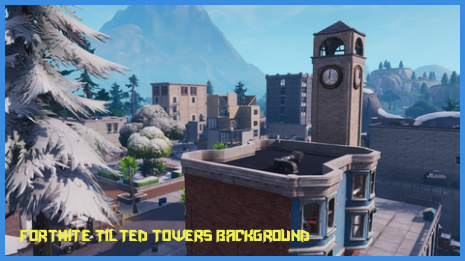 Fortnite Blue Tilted Towers Pin On Neat Wallpaper