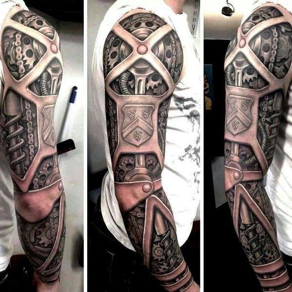 Los mejores tatuajes biomecanicos del mundo