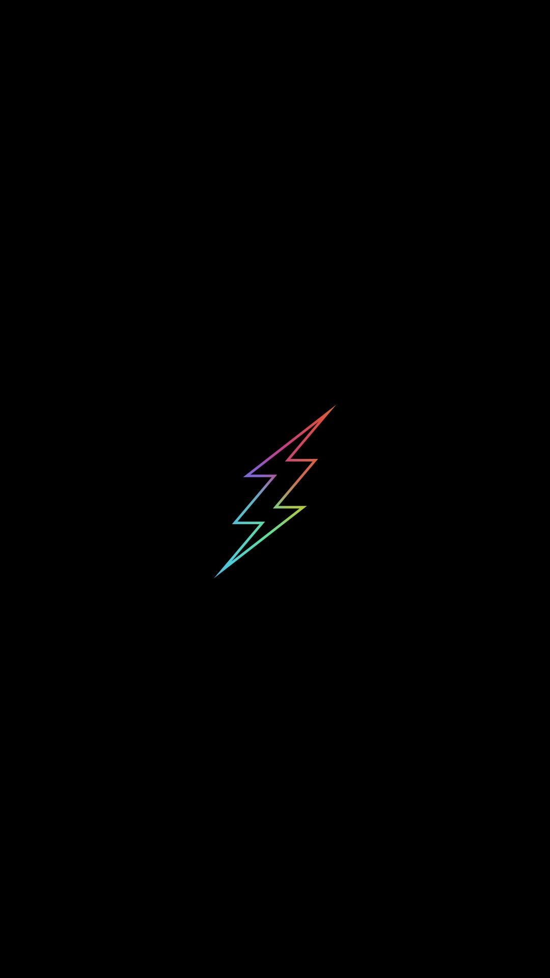 Minimal Flash Colorful Logo Minimal Wallpaper Minimal Wallpaper Flash Wallpaper Iphone Wallpaper For Guys