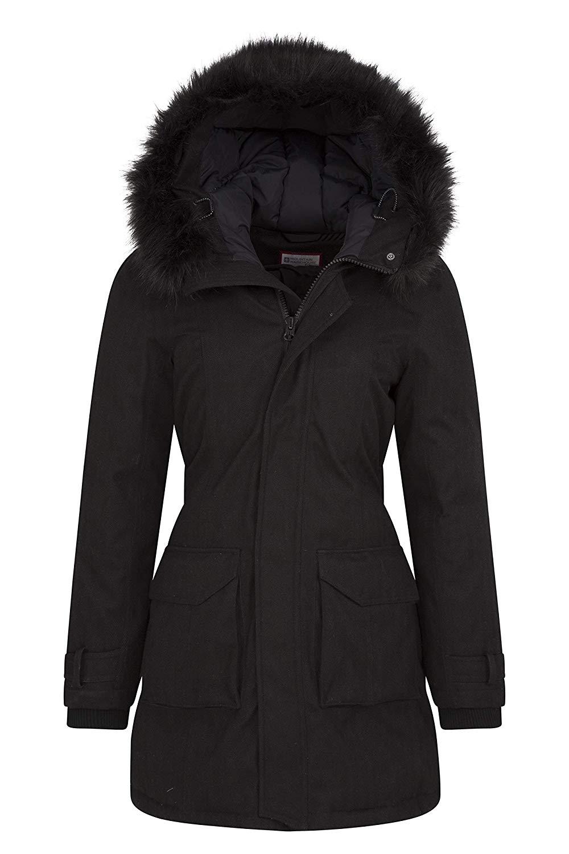 Chirrido esperanza Oxido  Mountain Warehouse Aurora Womens Down Waterproof Rain Jacket: Amazon.ca:  Sports & Outdoors | Winter jackets women, Winter coats women, Jackets