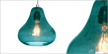 Kiss Pendant by Luxello is a modern crystal glass suspension