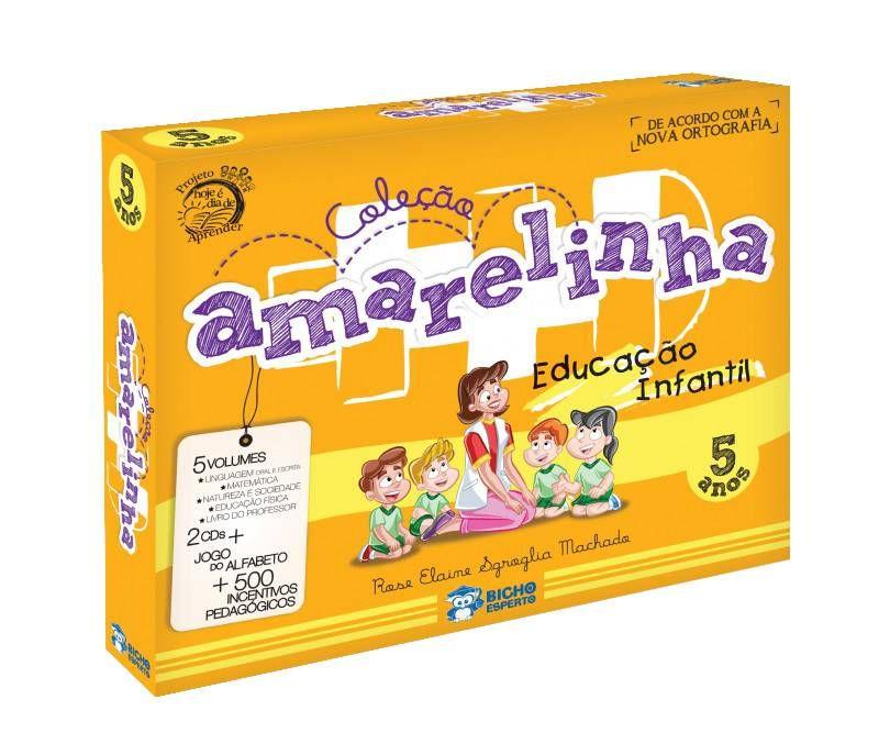 Colecao Amarelinha Educacao Infantil 5 Anos Isbn 9788533926493