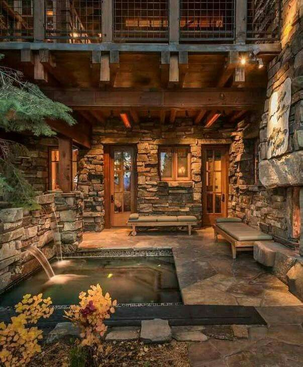 Pin By Charles Kutschke On Dream Home Log Homes Rustic House House Design