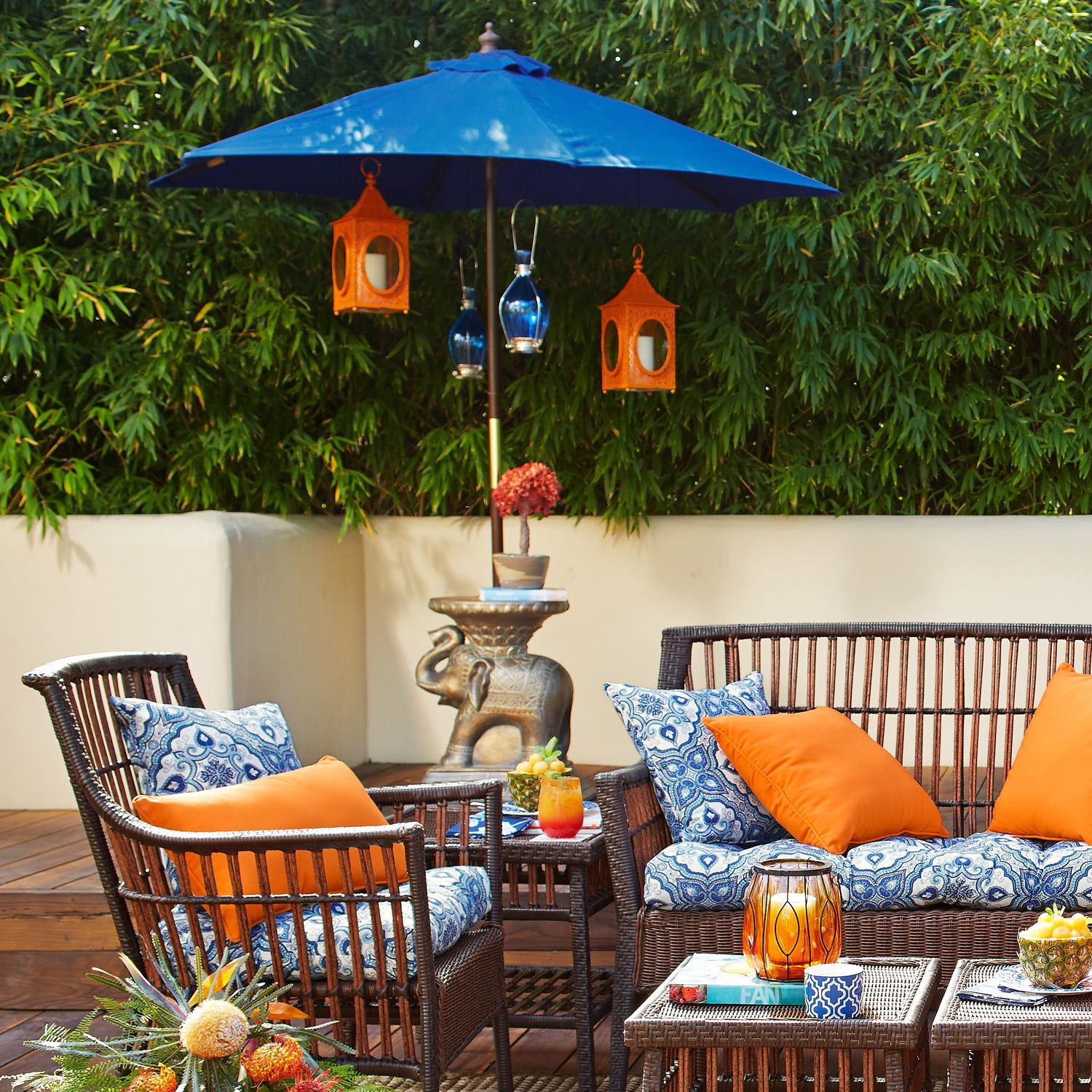 Elephant Umbrella Table | Pier 1 Imports