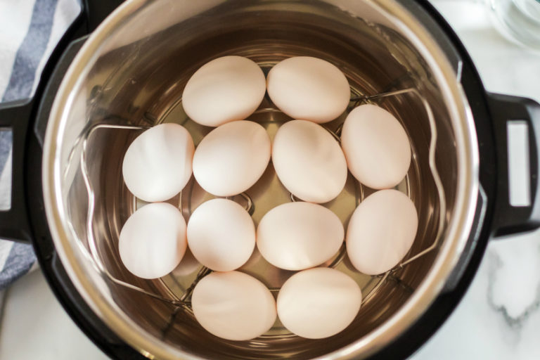 Perfect Instant Pot Hard Boiled Eggs