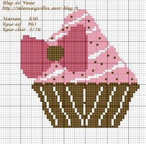 cupcake élégant
