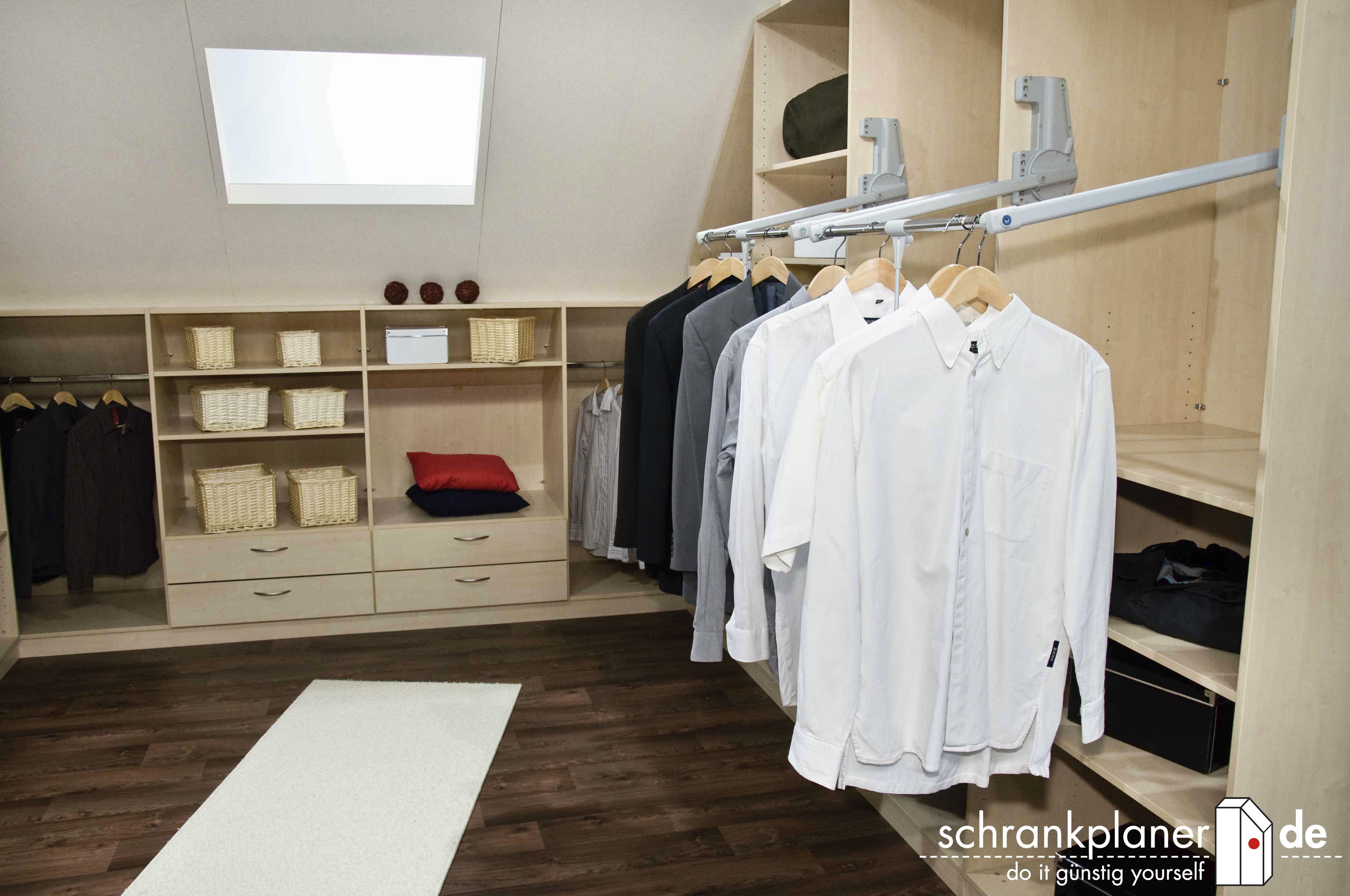 Cute Begehbaren Kleiderschrank planen