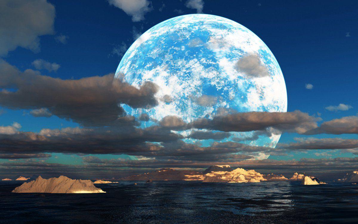 Full Moon Wallpaper Hd Malam Gambar Agama
