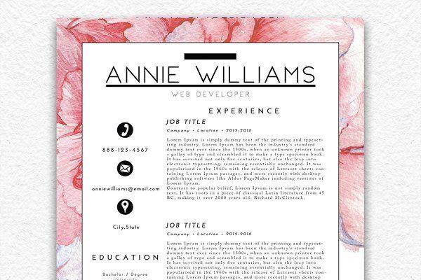 Resume Template/Business Card CV Pinterest Business cards - standard resume template