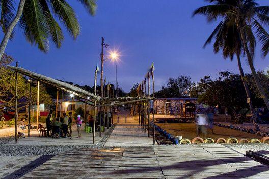 """Cómo el proyecto """"Espacios de Paz"""" está transformando los espacios comunitarios en Venezuela,Capitán Chico -- Independientes + Hábitat sin Fronteras. Image Cortesia de PICO Estudio"""