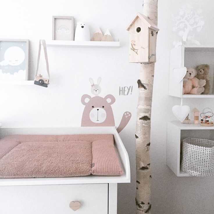 Anticipation Countdown Baby Babygirl Wrapper Winding Pad Kinder Zimmer Wickeltisch Baby Kinderzimmer