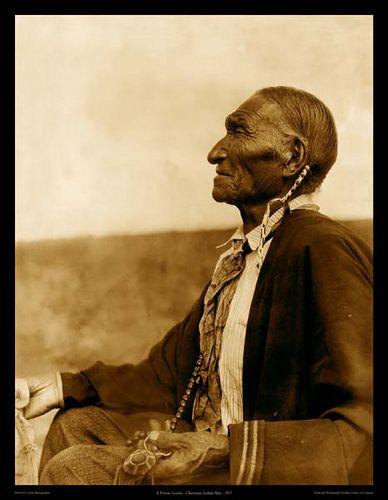 Peyote Leader, Cheyenne 1927 ca