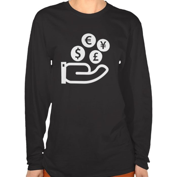 Finances Pictogram T Shirt, Hoodie Sweatshirt