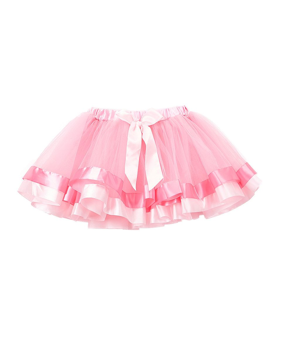 Take a look at this Pink Ribbin-Hem Tutu - Infant, Toddler & Girls today!