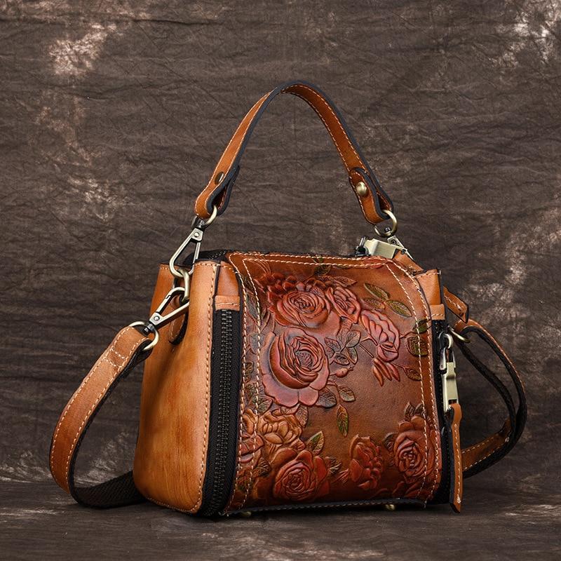 Messenger Shoulder Top Handle Genuine Leather Artisan Bag – Bohemian Moon  Boutique 4b32139ee56d8