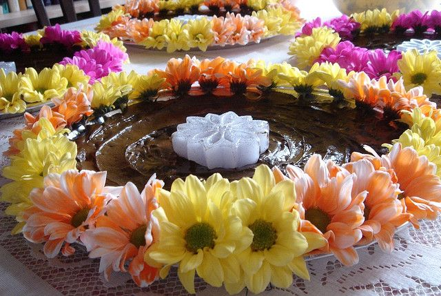 Mehndi Decoration Trays : Mehndi henna trays and decor
