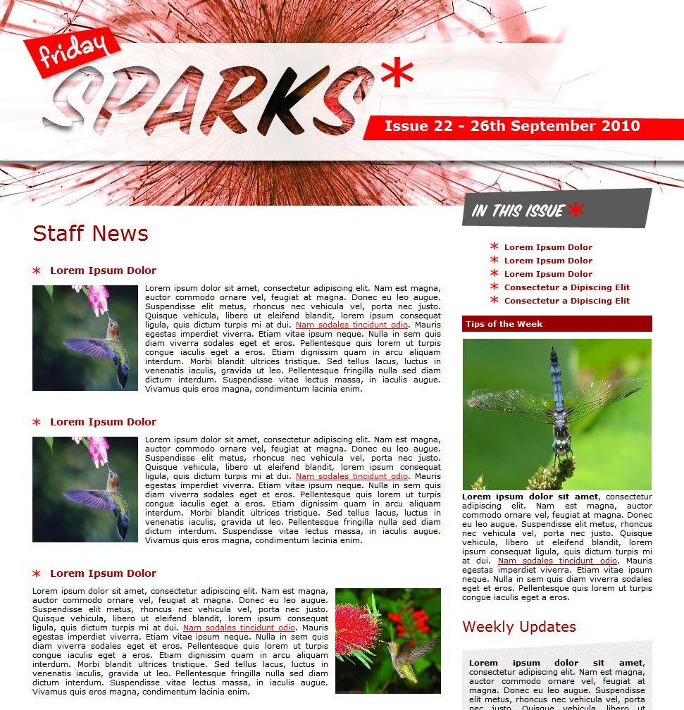 Internal Newsletter Ideas From Snapcomms  Staff Newsletters