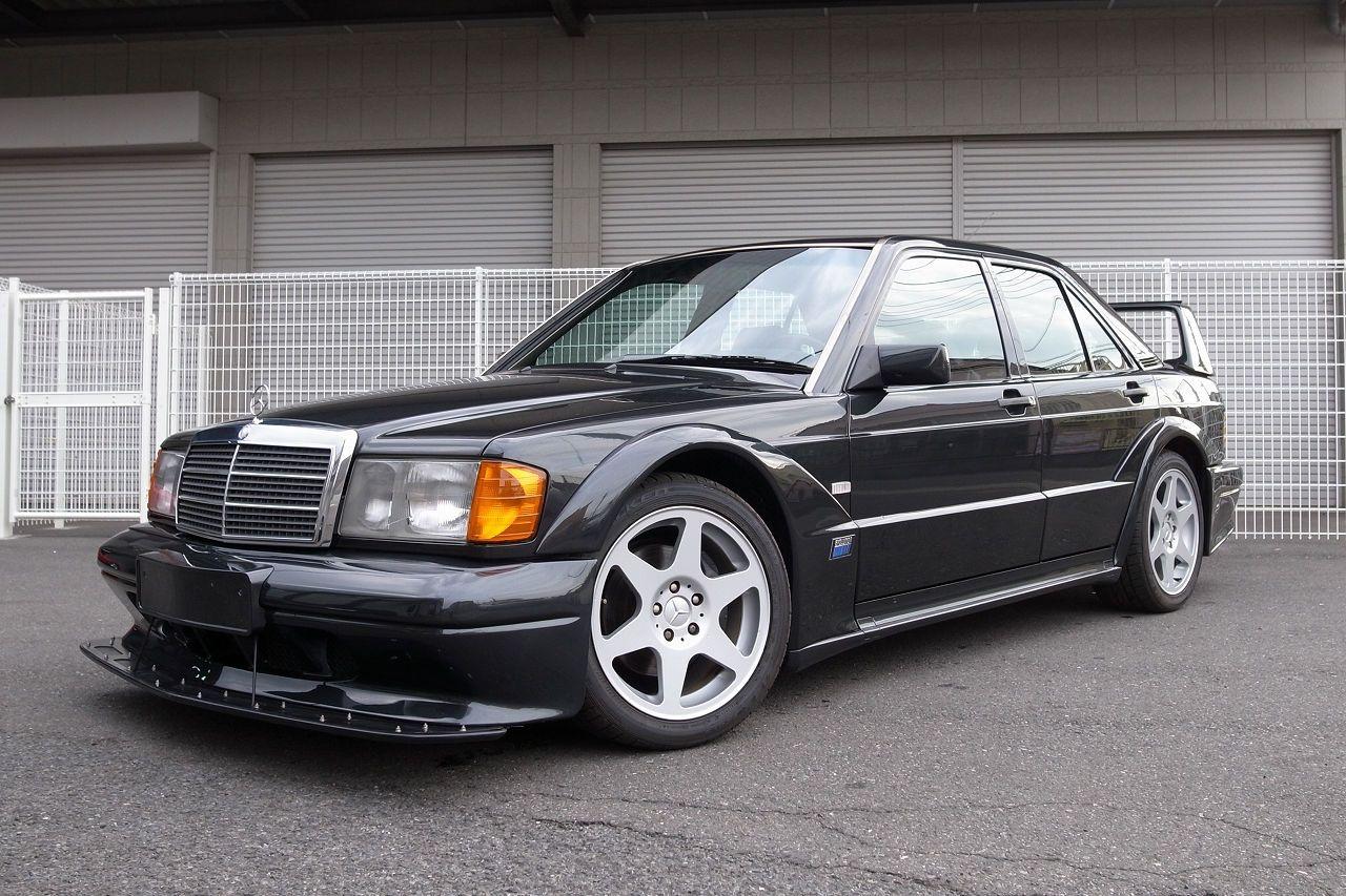 There S A Super Rare 1991 Mercedes 190e 2 5 16v Evo Ii For Sale In