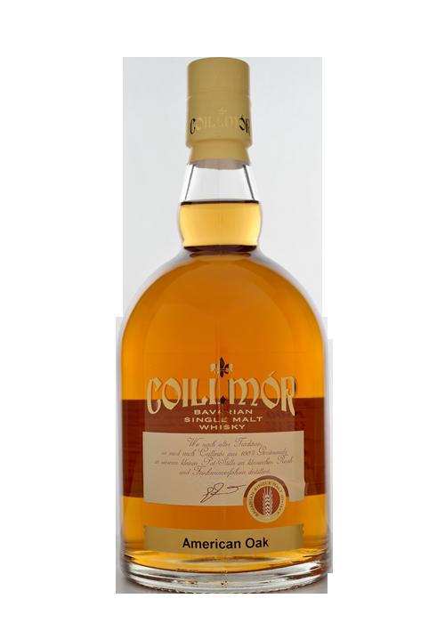 Coillmór Single Malt Whisky 43% vol. 4 Jahre American Oak Spezialitätenbrennerei Liebl in Bad Kötzting