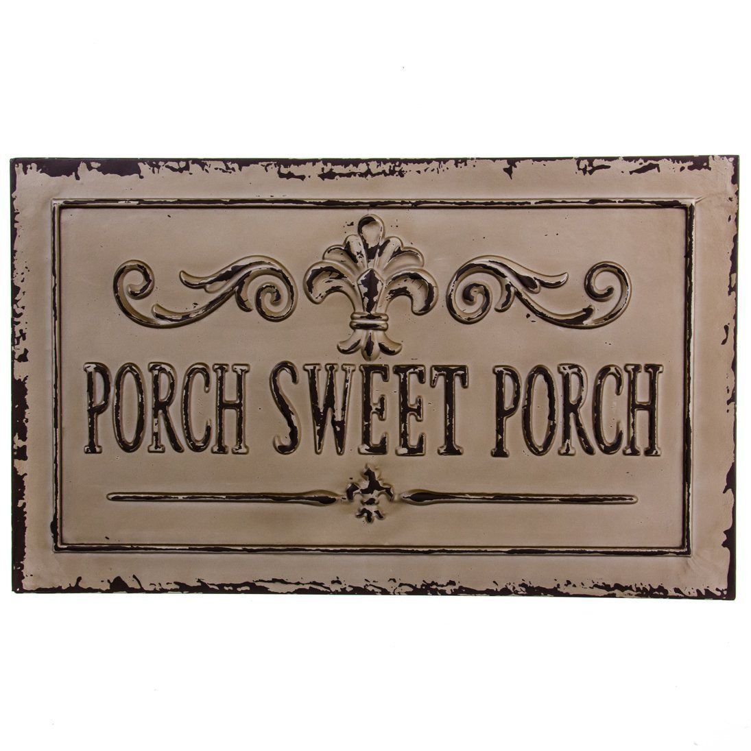 Porch Sweet Porch Metal Sign Front Porch Decorating Decks And Porches Metal Signs