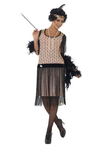 Want to look like a true 1920\'s flapper? This Women\'s Plus ...