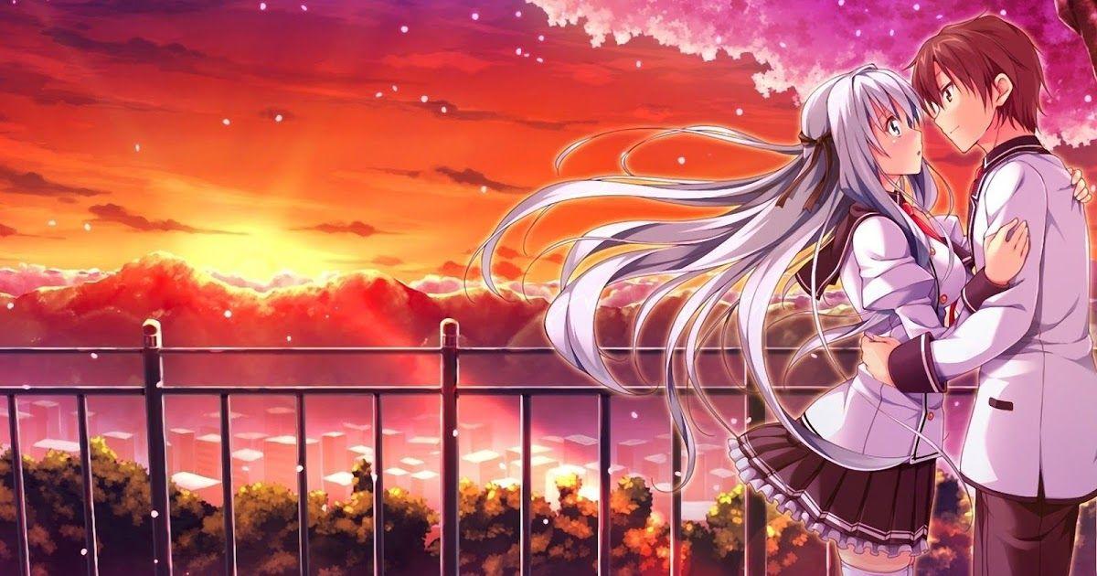 20 Anime Couple Wallpaper 4k Download Di 2020 Animasi Gambar Anime