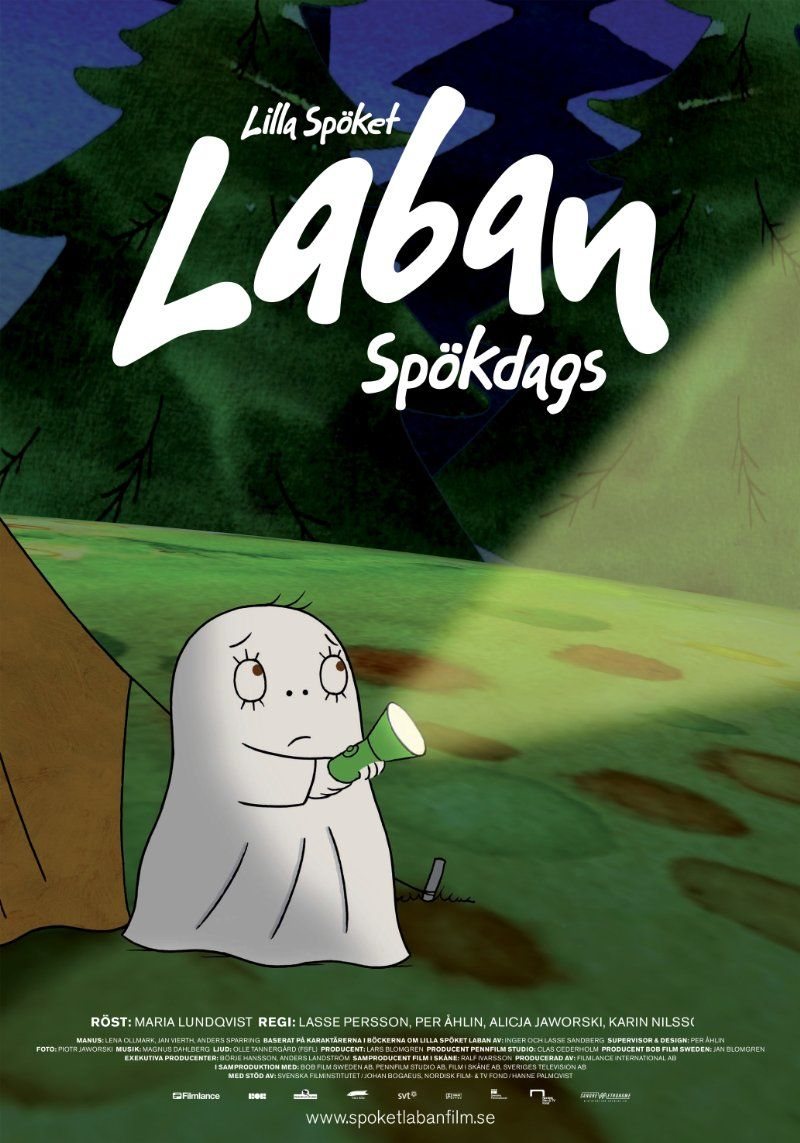 Lilla Spöket Laban Spökdags 2007 Laban Ghost Afraid Of The Dark