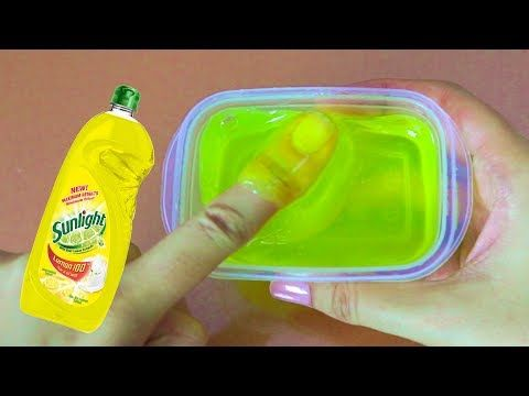 Amazing clear slime with water and dishsoap must try no clear slime with water and dishsoap must try no borax how to make ccuart Images